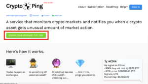 CRYPTO PING 仮想通貨