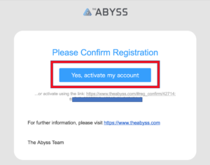 Abyss ICO 仮想通貨