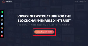Videocoin ico 仮想通貨